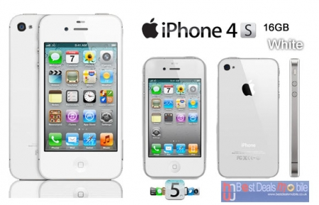 iPhone 4s 16Gb [ White ] Mới 99%